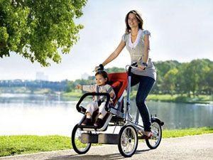 велосипед с коляской