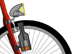 Своими руками велосипед от генератора