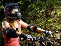 защищённый велосипедист