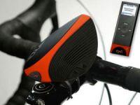 колонки на руле велосипеда