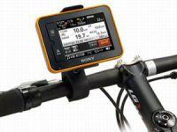 gps-навигатор на руле велосипеда