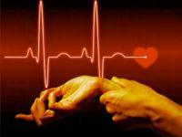 измерение пульса на запястье