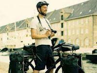 велосипед, оснащённый сумками